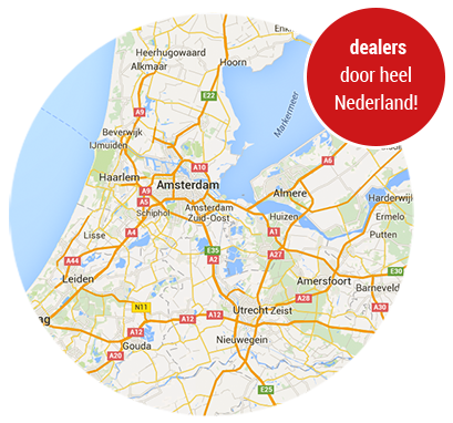 Dealers door heel Nederland