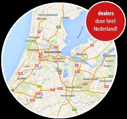 Dealers door heel Nederland