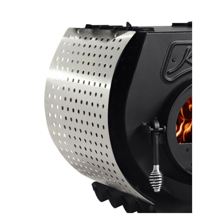 Kanuk® Zijstukkenset Geperforeerd roestvrij staal