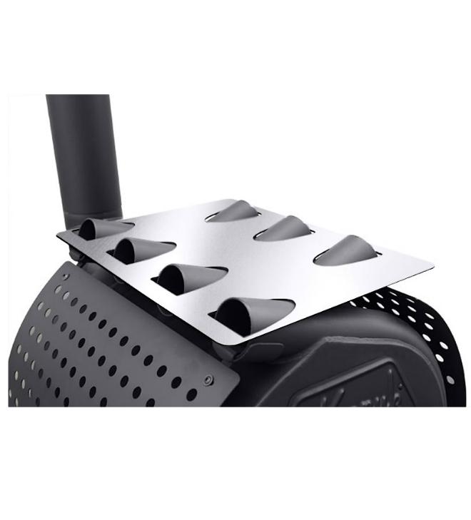 Warmhoudplaat Roestvrij staal
